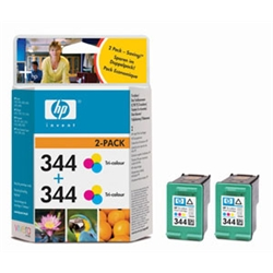 Hewlett Packard [HP] Inkjet Cartridge No. 344